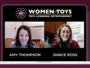 Janice Ross and Amy Thompson